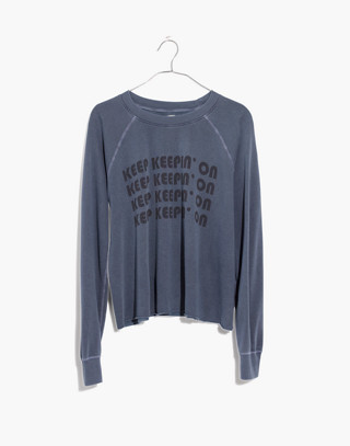 Rivet & Thread Keep Keepin' On Swing Sweatshirt