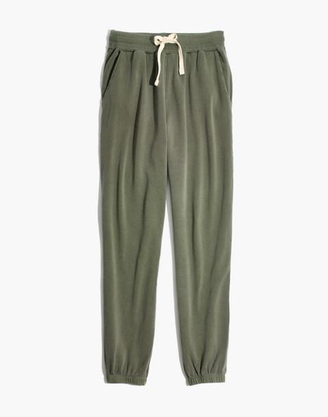 Rivet & Thread Sweatpants in dark olive image 4