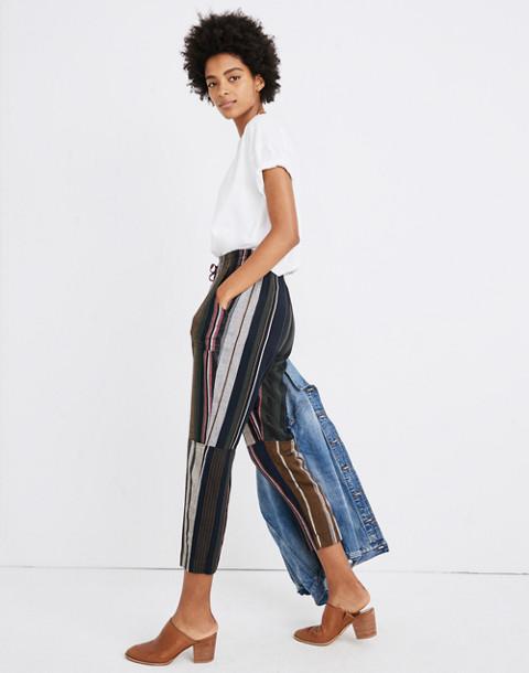 Apiece Apart™ Striped Floris Pants in zaanse lurex stripe image 2