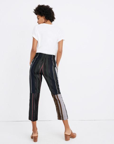 Apiece Apart™ Striped Floris Pants in zaanse lurex stripe image 3