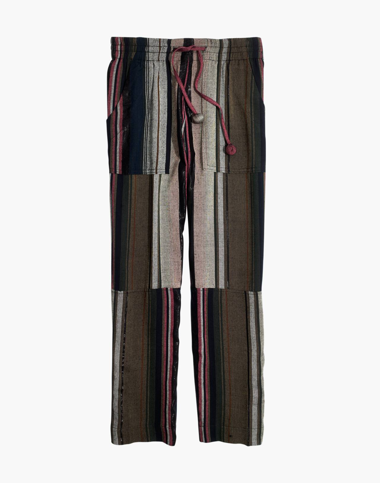 Apiece Apart™ Striped Floris Pants in zaanse lurex stripe image 4