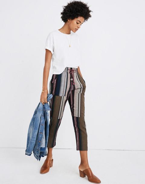 Apiece Apart™ Striped Floris Pants in zaanse lurex stripe image 1