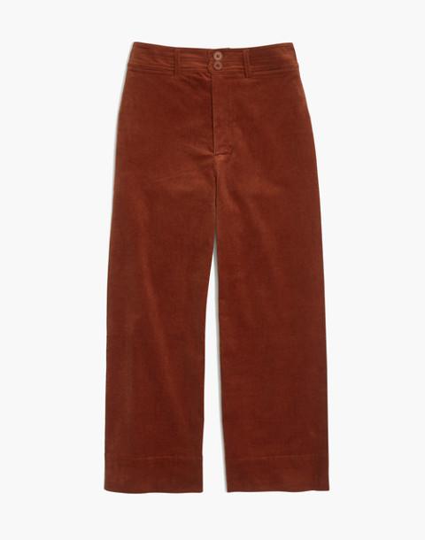 Apiece Apart™ Corduroy Merida Pants in cognac image 1