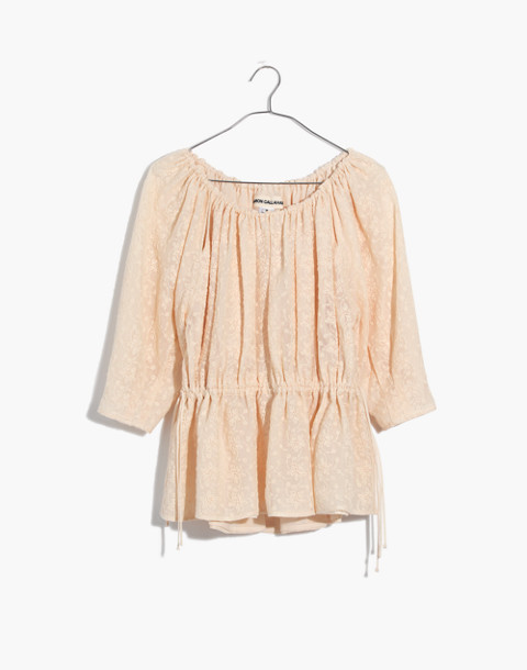 Caron Callahan™ Lace Judith Top in ivory image 4