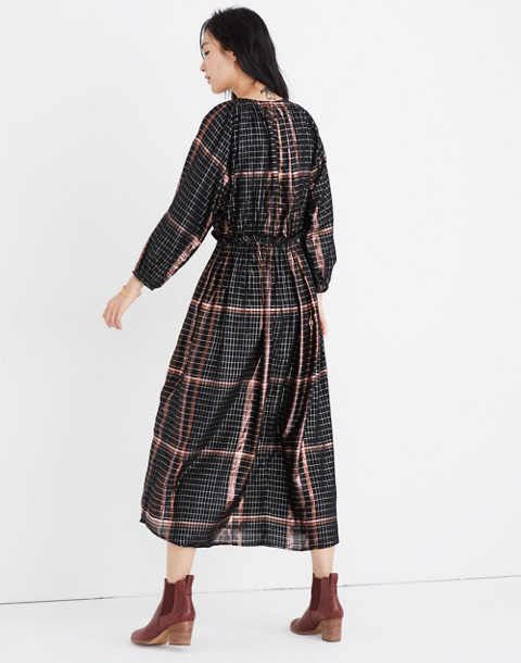 Apiece Apart™ Plaid Valentijn Dress in catharina lurex plaid image 3