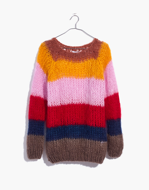 Madewell x Maiami Striped Sweater in multi color image 4