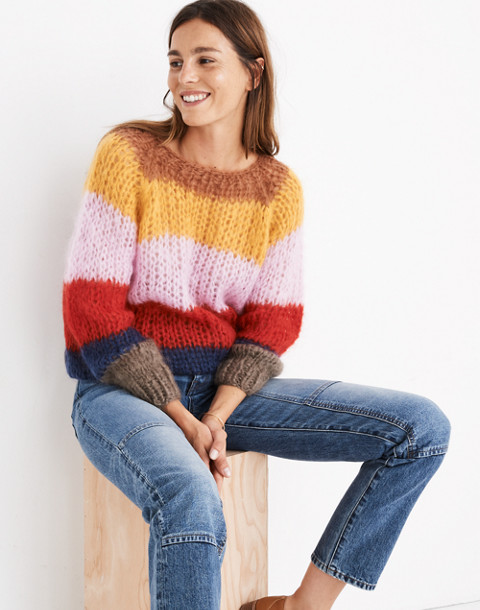 Madewell x Maiami Striped Sweater in multi color image 1