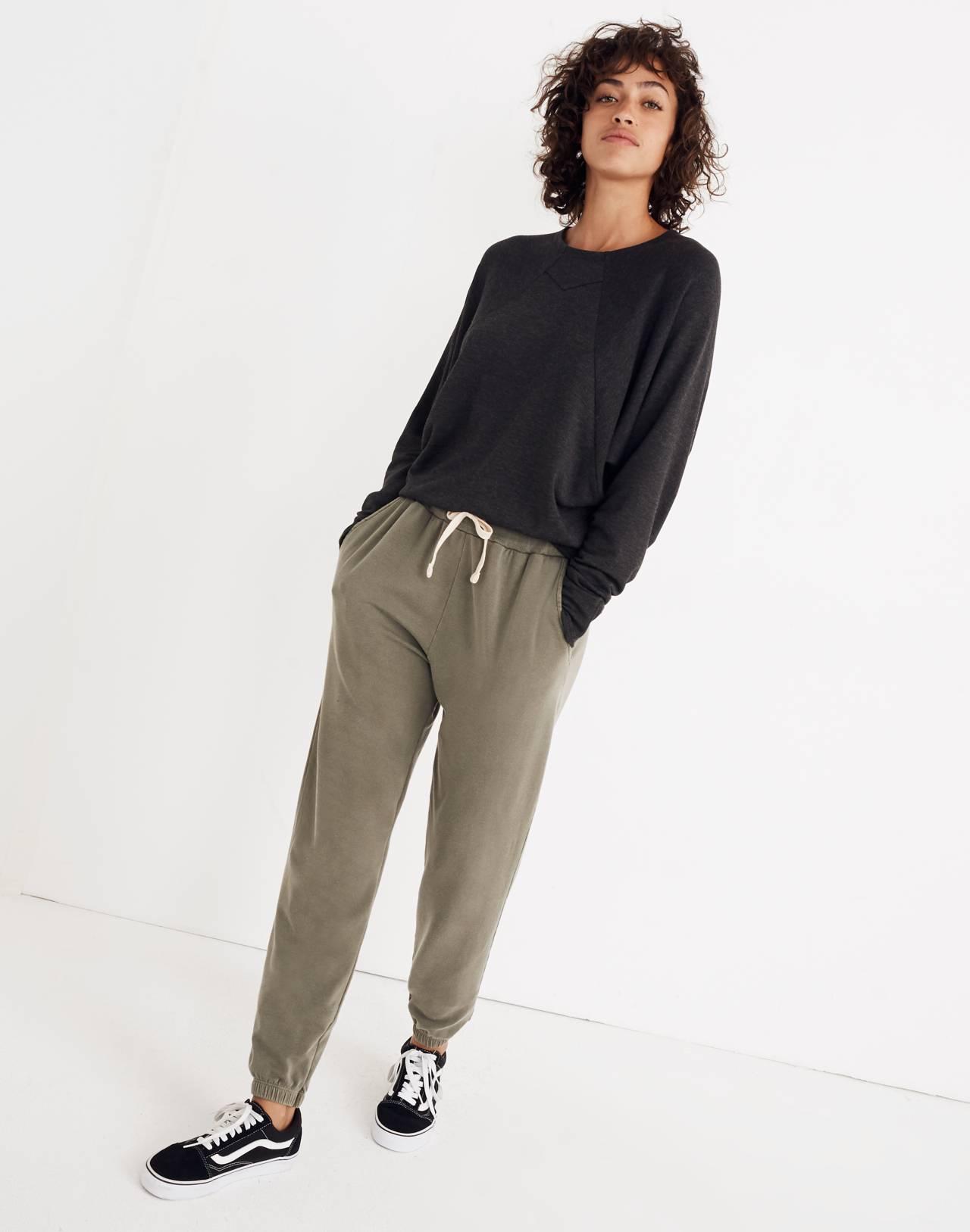 Splits59™ Jillian Pullover Top in heather grey image 3