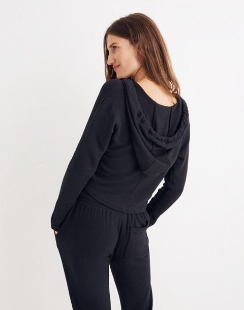Splits59™ Halfback Crop Hoodie Sweatshirt in black image 3