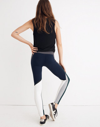 Splits59™ Colorblock Tights in indigo multu image 2