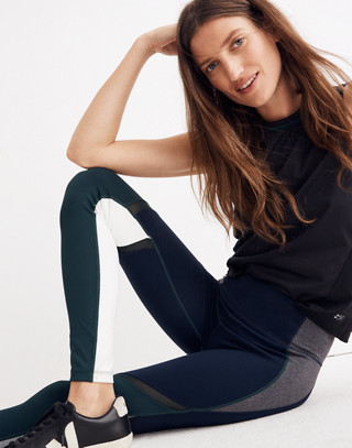 Splits59™ Colorblock Tights in indigo multu image 1