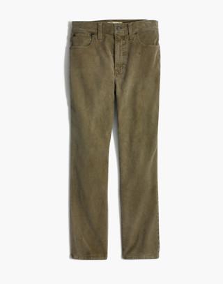 The High-Rise Slim Boyjean: Corduroy Edition in british surplus image 4
