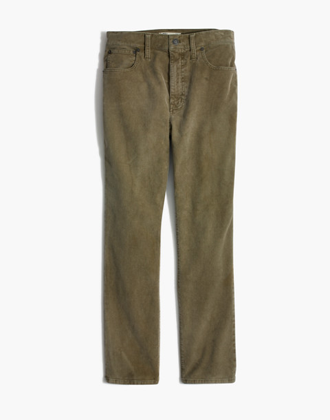 The High-Rise Slim Boyjean: Corduroy Edition in british surplus image 4