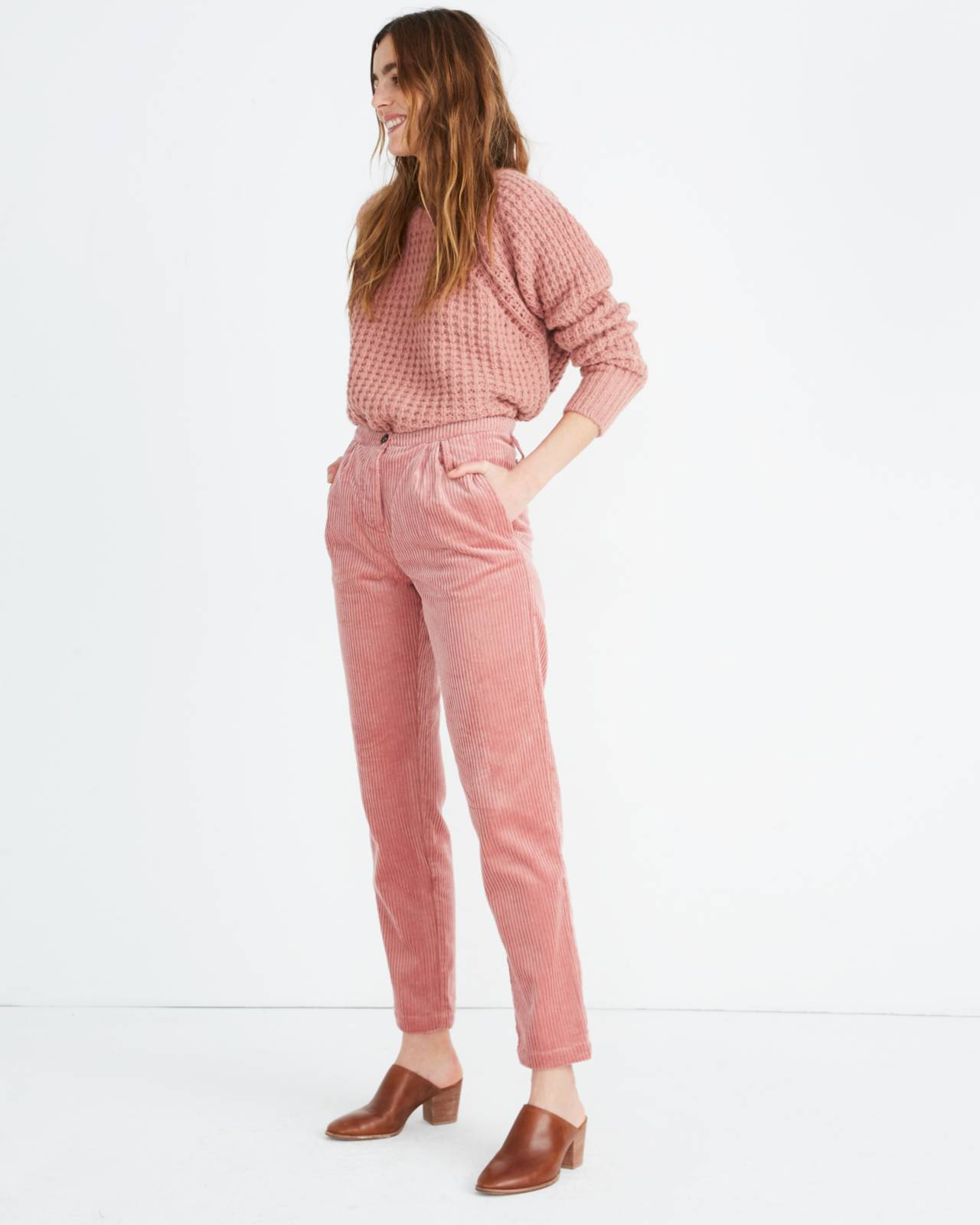 Sess�n™ Corduroy Rocco Pants in misty image 2