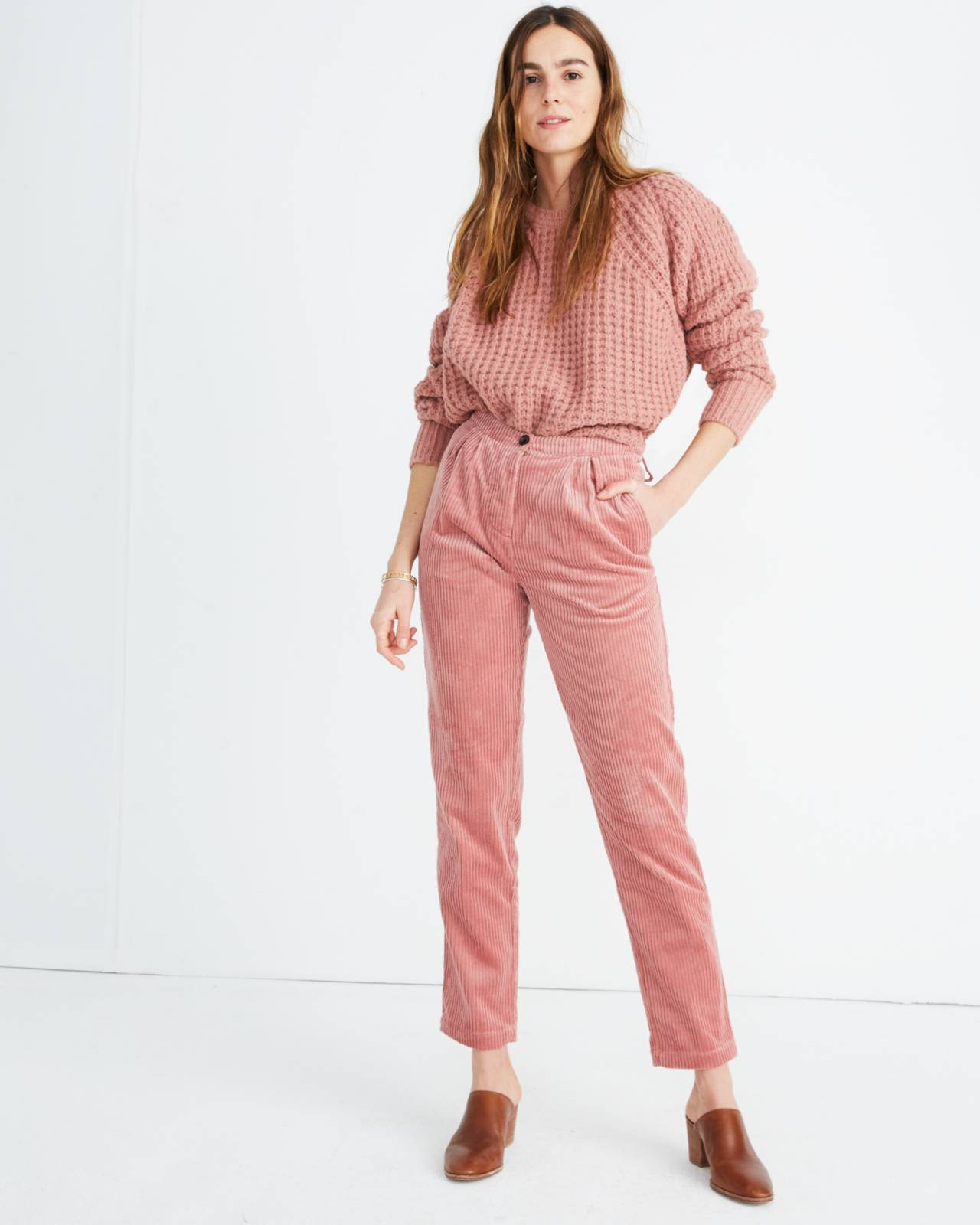 Sess�n™ Corduroy Rocco Pants in misty image 1