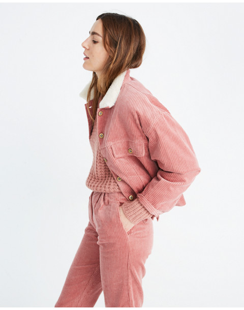 Sess�n™ Corduroy Ginetta Jacket in misty rose rocco image 1