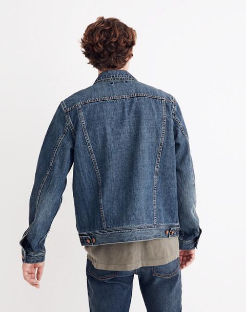 Classic Jean Jacket in Medium Indigo in classic image 3
