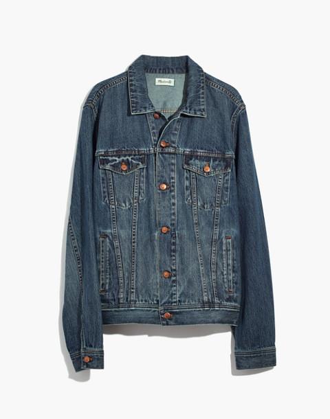 Classic Jean Jacket in Medium Indigo in classic image 4