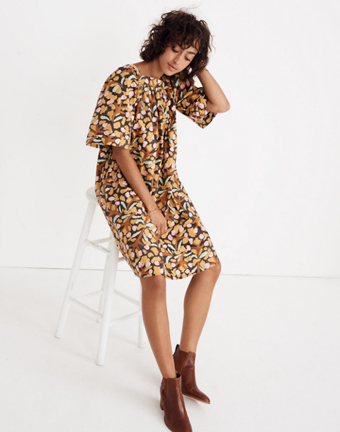 Whit® Mira Dress in multi mustard image 3