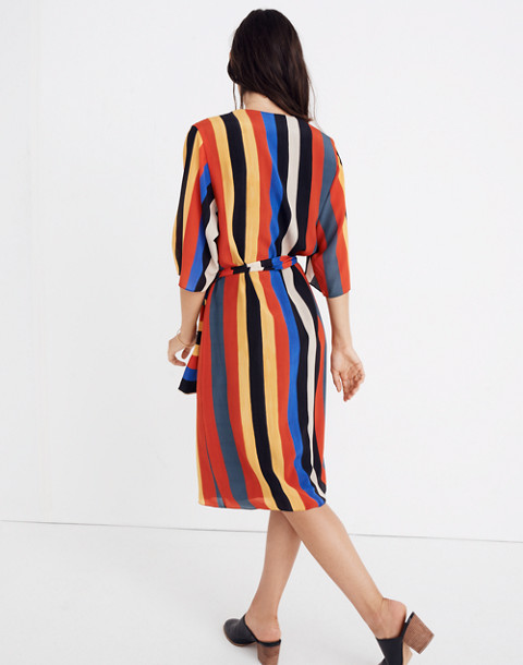 Whit® Striped Pia Dress in multi stripe image 3
