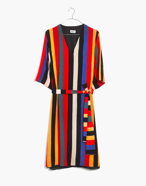 Whit® Striped Pia Dress in multi stripe image 4
