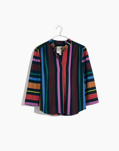 Ace&Jig™ Striped Katherine Top in ribbon candy image 1