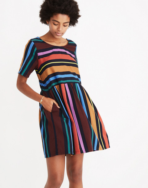 Ace&Jig™ Striped Misty Dress in ribbon candy image 2