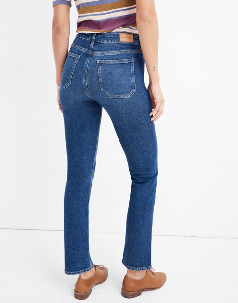 M.i.h® High-Rise Straight Jeans in sill wash image 3