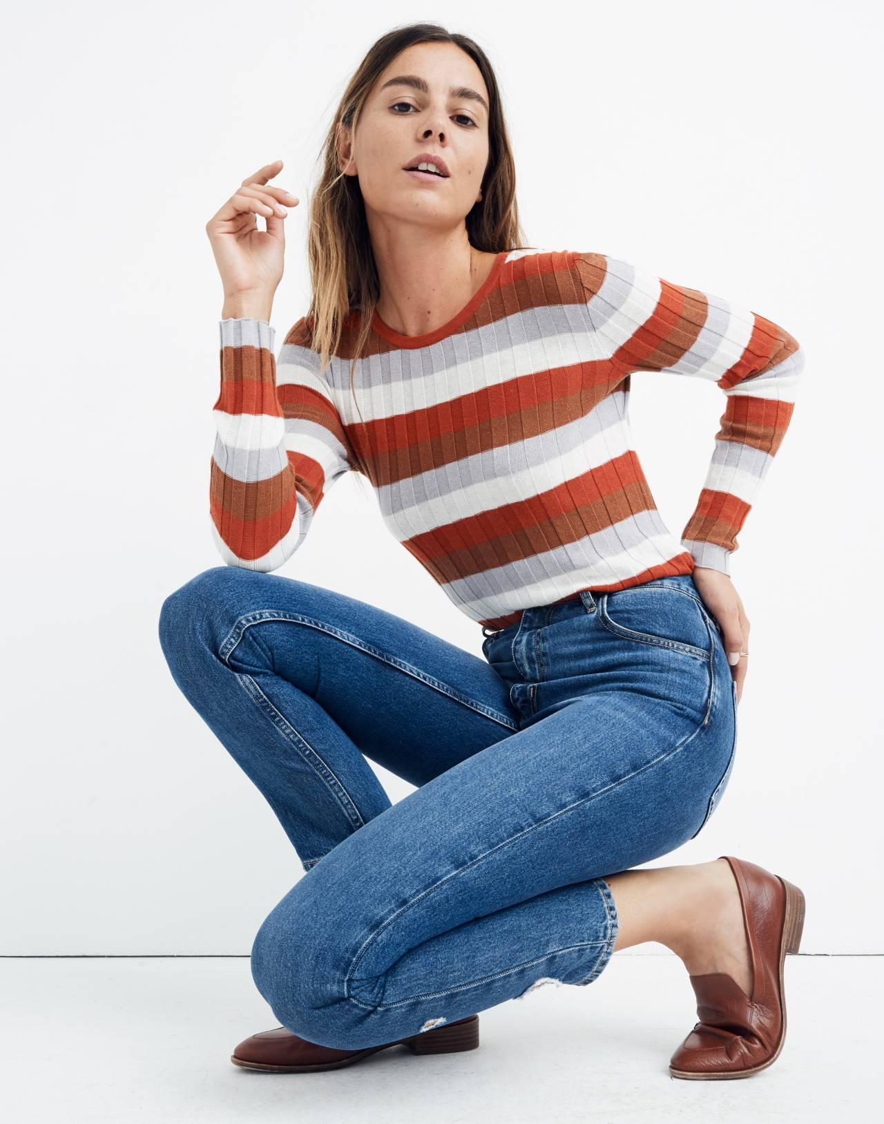 M.i.h® Mimi Jeans in deenie wash image 2
