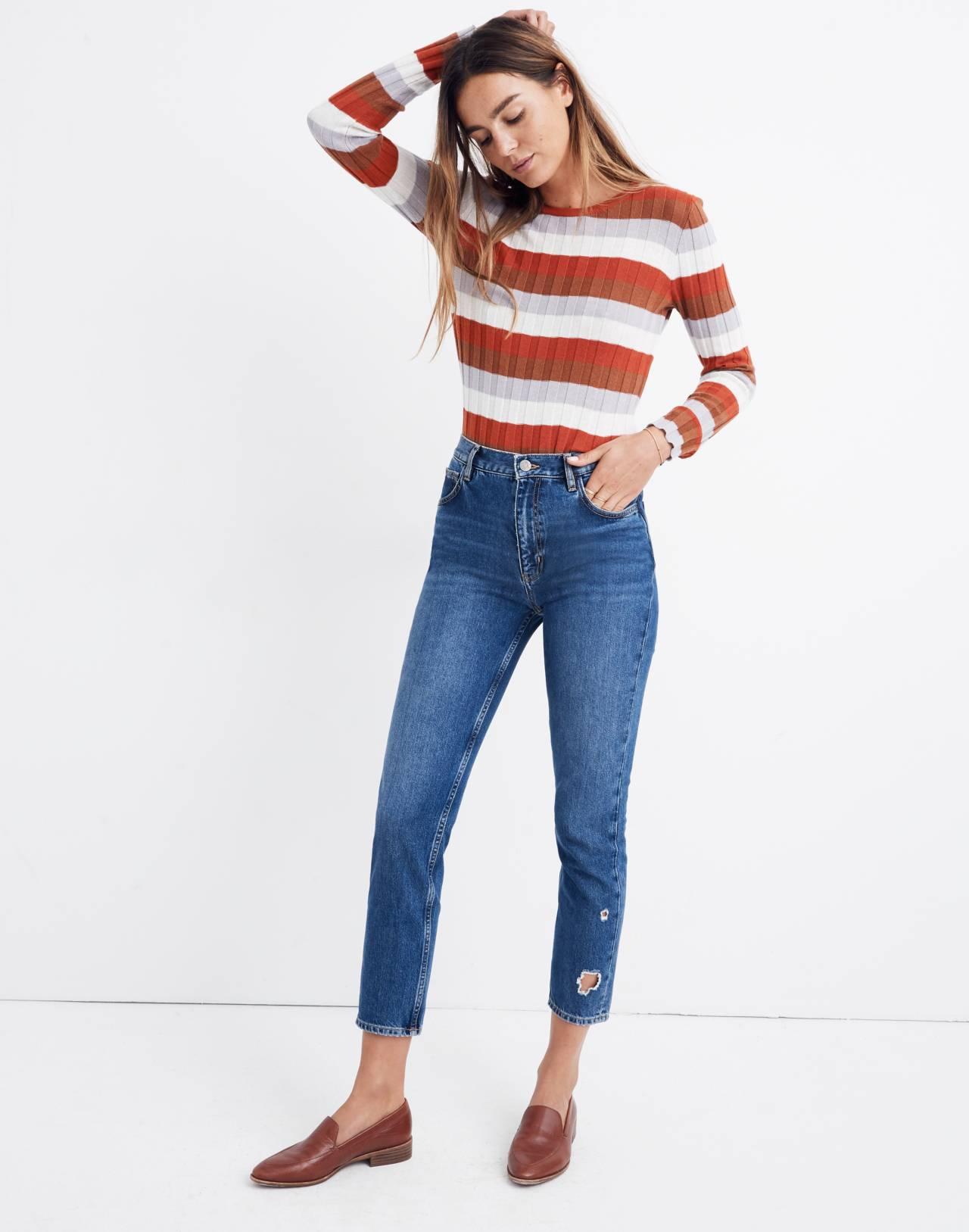 M.i.h® Mimi Jeans in deenie wash image 1
