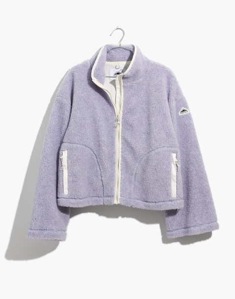 Madewell x Penfield® Haight Fleece Jacket in lilac image 1