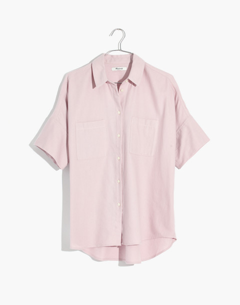 Flannel Courier Shirt in wisteria dove image 4