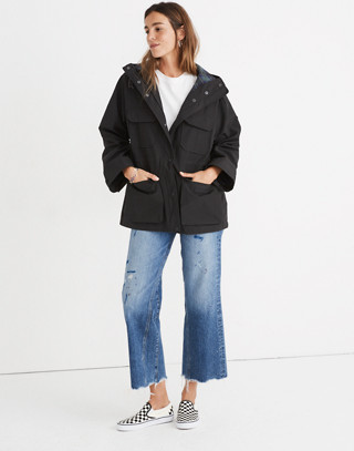 Madewell x Penfield® Medbury Jacket in black image 3