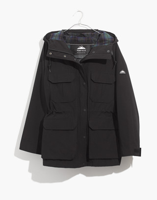 Madewell x Penfield® Medbury Jacket in black image 4