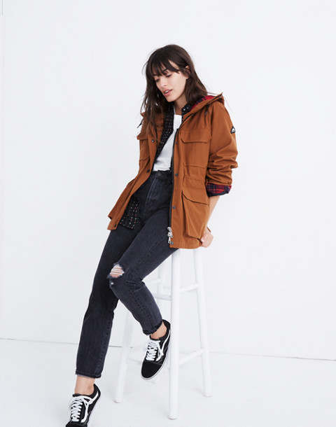 Madewell x Penfield® Medbury Jacket in brown image 2