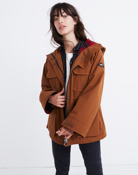 Madewell x Penfield® Medbury Jacket in brown image 3
