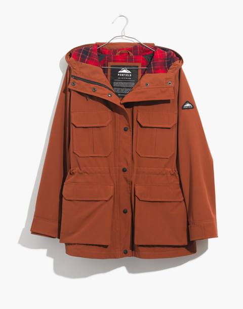 Madewell x Penfield® Medbury Jacket in brown image 4