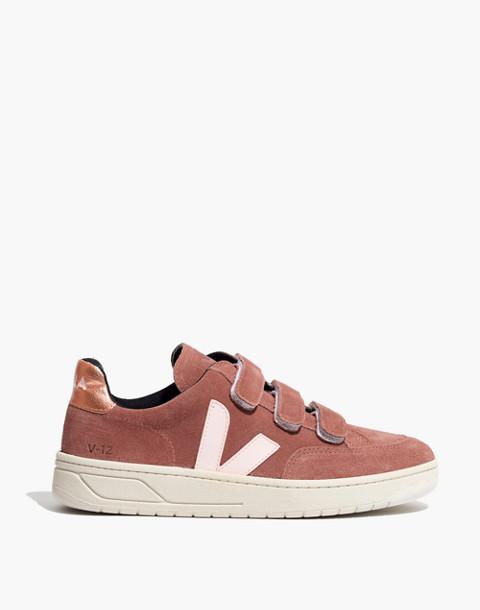 Veja™ V-12 Velcro® Sneakers in Dried Petal in dried petal image 3