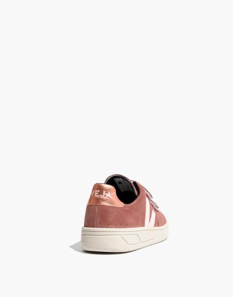 Veja™ V-12 Velcro® Sneakers in Dried Petal in dried petal image 4