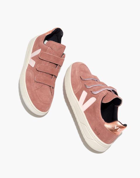 Veja™ V-12 Velcro® Sneakers in Dried Petal in dried petal image 1