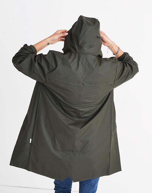 4e5c00101 RAINS™ Unisex Long Rain Jacket