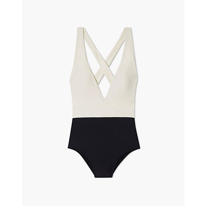 Summersalt® Deep Dive One Piece Swimsuit In White by Madewell