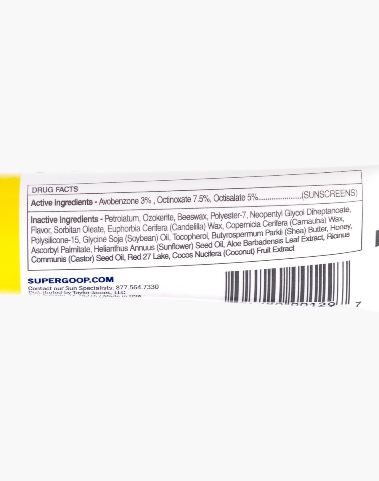 Supergoop!® Acai Fusion Lip Balm in spf 30 image 2