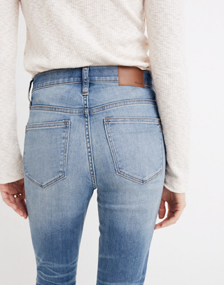 Cali Demi-Boot Jeans in Bess Wash: Button-Front Edition in bess wash image 3