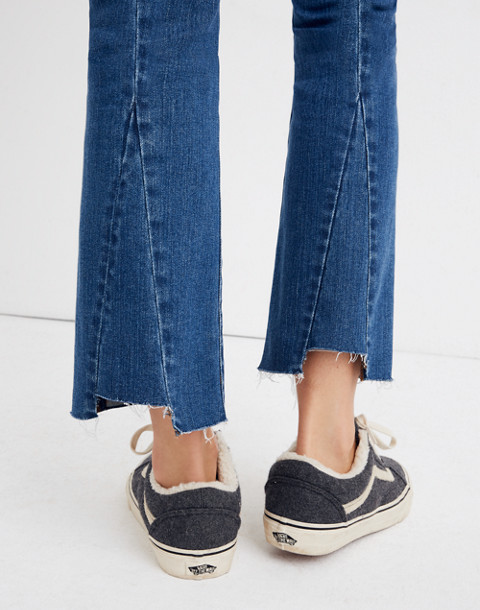 Petite Cali Demi-Boot Jeans in Kemper Wash: Back-Seam Edition in kemper wash image 2