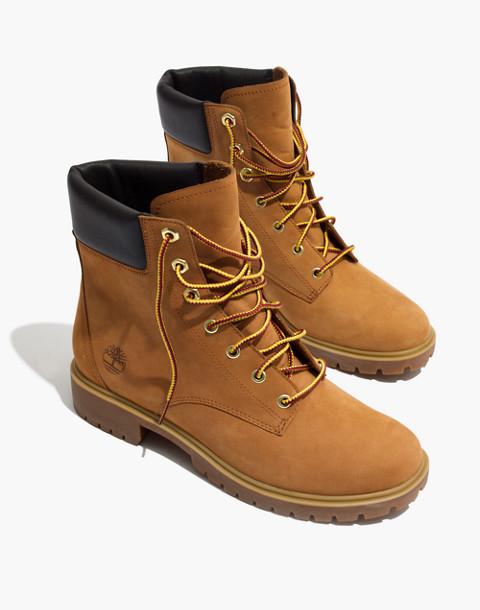 "Timberland® Jayne 6"" Waterproof Boots in wheat image 1"
