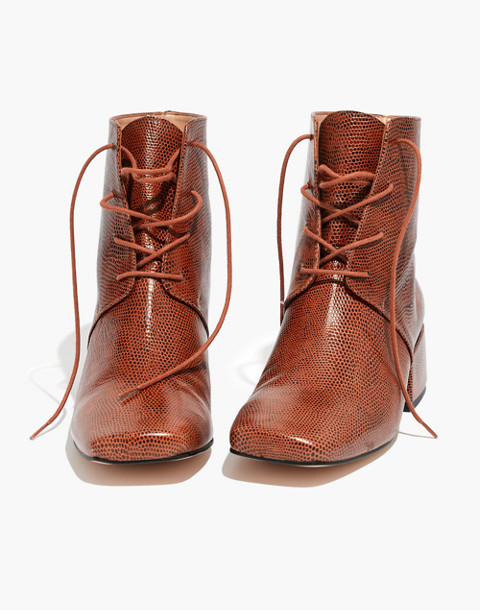About Arianne Gabriel Lace-Up Boots in brandy image 1