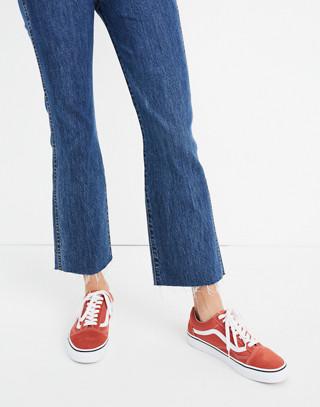 Rigid Demi-Boot Crop Jeans in MacGill Wash in macgill wash image 3