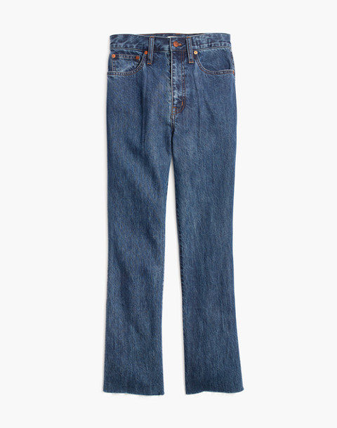 Tall Rigid Demi-Boot Crop Jeans in MacGill Wash in macgill wash image 4