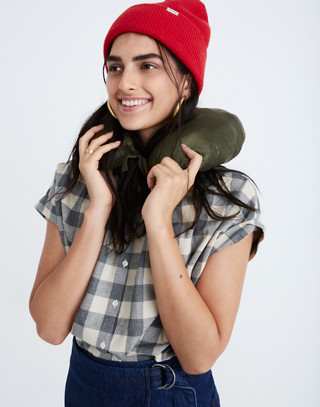 Travel Buddy Packable Puffer Jacket in military surplus image 3